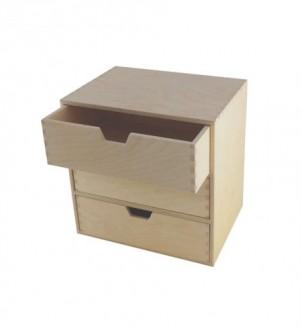 Organizer do biura z 3 szufladami