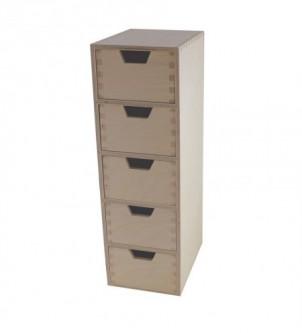Organizer pionowy z 5 szufladami