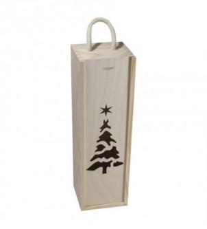 Skrzynka świąteczna na wino