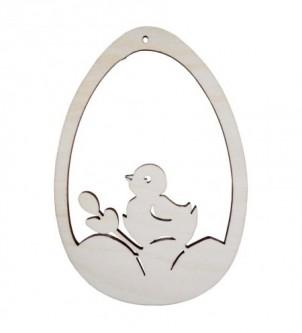 Szablon/zawieszka jajko z pisklakiem