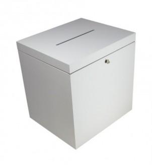 Skarbona na kopery malowna na biało