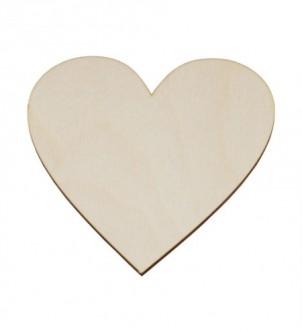 Serce z sklejki 12,5x12,5cm