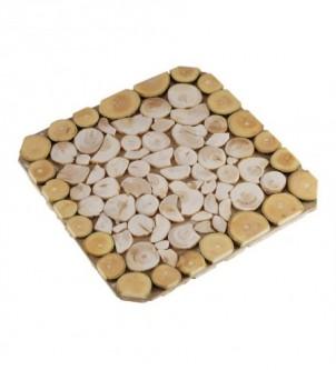 Podkładka drewniana pod gorące naczynia dwustronna