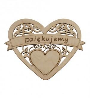 Drewniane serce na...