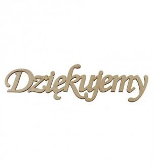 Drewniany napis dekor do...