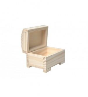 Szkatułka drewniana do decoupage 10cm