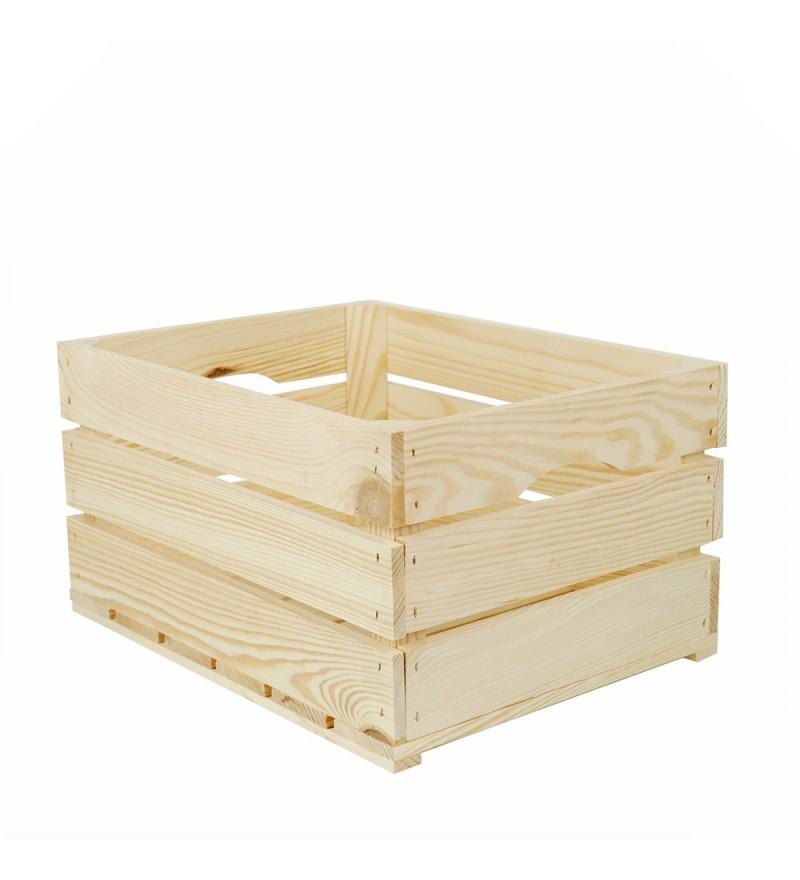 skrzynka z drewna na warzywa