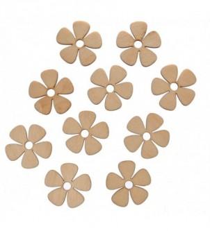 Skrapki kwiatuszki 10 szt w...